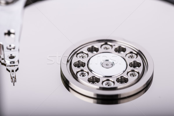 Hard disk drive HDD isolated  Stock photo © jarin13