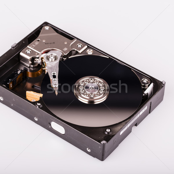 Hard disk drive HDD isolated on white background Stock photo © jarin13