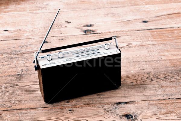 Old radio Stock photo © jarin13
