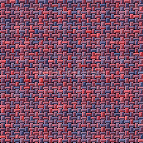 red and blue knitwear or fabric generated texture Stock photo © jarin13
