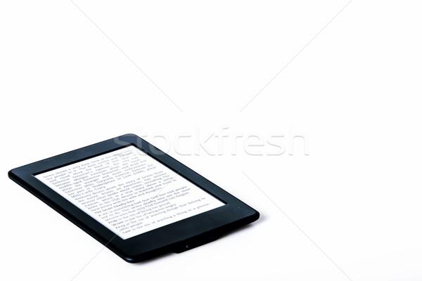 черный читатель таблетка белый технологий Сток-фото © jarin13