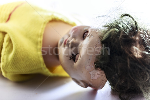 頭 怖い 人形 のような ホラー 映画 ストックフォト © jarin13
