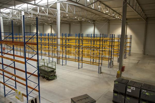 пусто новых склад подготовленный начала бизнеса Сток-фото © jarin13