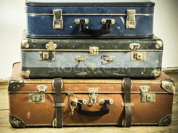 old suitcase Stock photo © jarin13