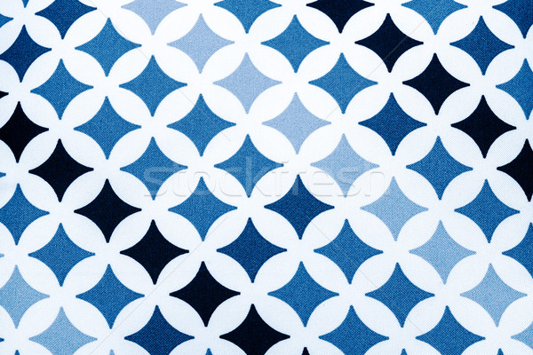 fabric texture - black and blue stars Stock photo © jarin13