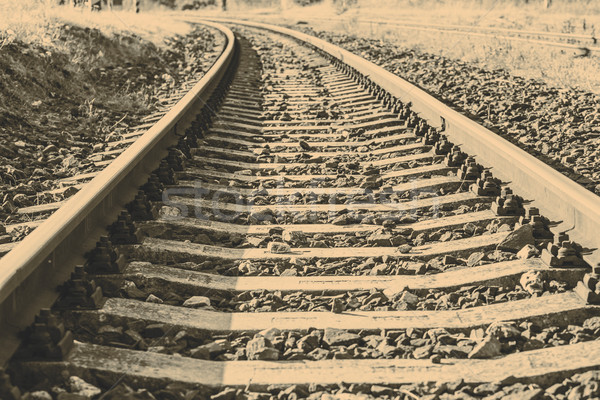 Old railway Stock photo © jarin13