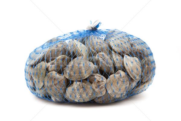 Schelpdier netwerk verscheidene vers middellandse zee dieet Stockfoto © jarp17