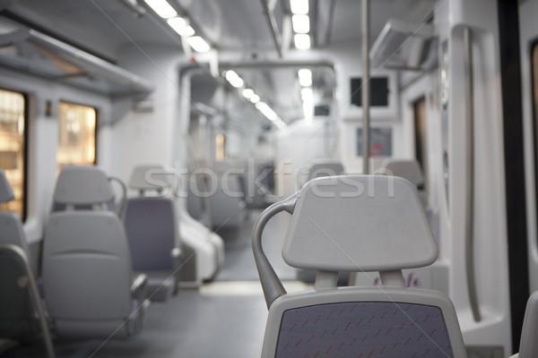 Vonat tömegközlekedés jármű utazás busz sebesség Stock fotó © jarp17