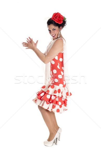 flamenca andalusia clapping Stock photo © jarp17