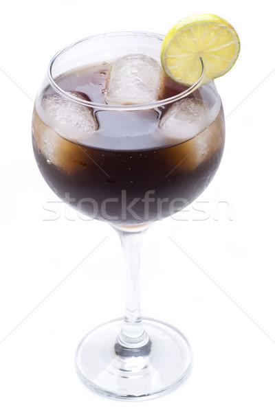 Uzun ada çay kokteyl bir ünlü Stok fotoğraf © jarp17