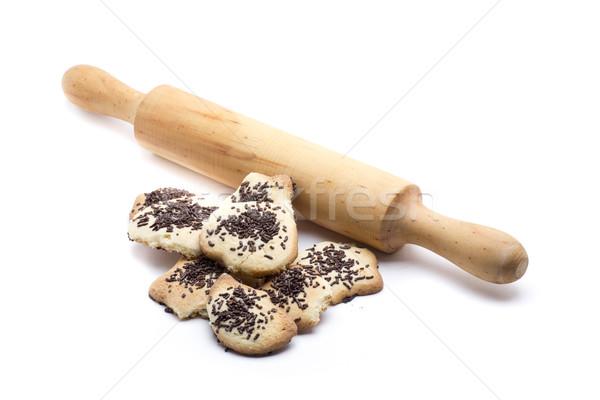 Házi készítésű süti frissen sült kekszek stúdió Stock fotó © jarp17