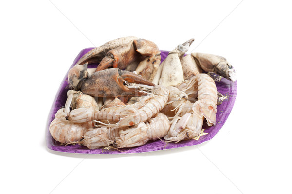 crustacean plate Stock photo © jarp17