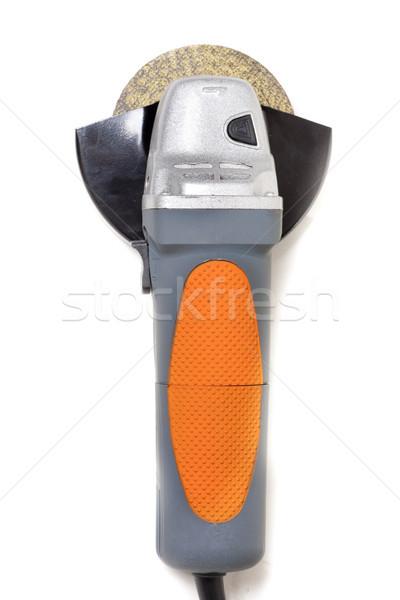Stok fotoğraf: Küçük · öğütücü · el · araç · kullanılmış · inşaat