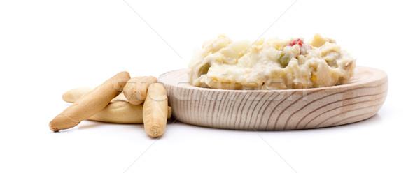 Rus salata iştah açıcı beyaz biber öğle yemeği Stok fotoğraf © jarp17