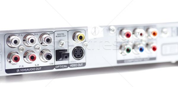 стерео аудио видео телевидение промышленности Сток-фото © jarp17