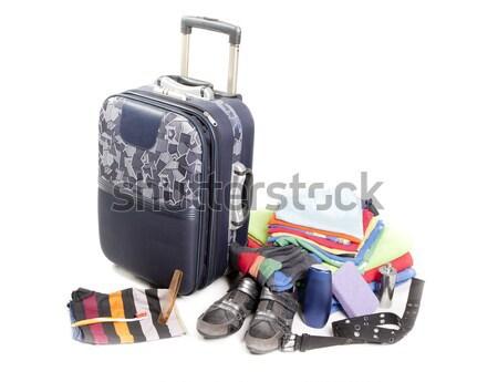 Bagagem mulher necessário Foto stock © jarp17