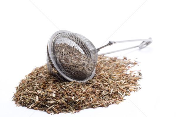 вливание природного трава чай медицинской Сток-фото © jarp17