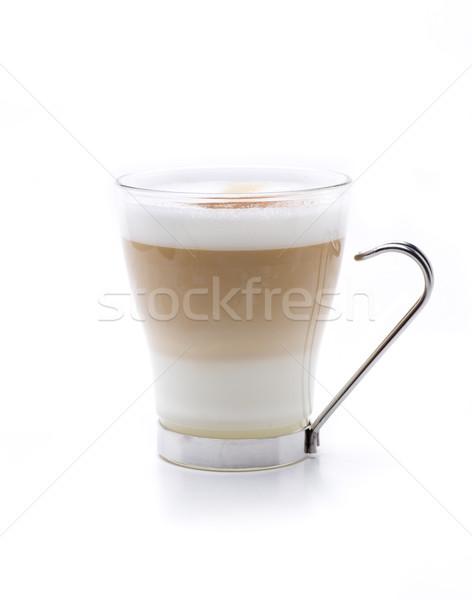 капучино горячей служивший три пить Сток-фото © jarp17