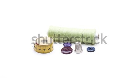 Кнопки различный швейных используемый белый Сток-фото © jarp17