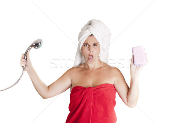 ready for shower Stock photo © jarp17