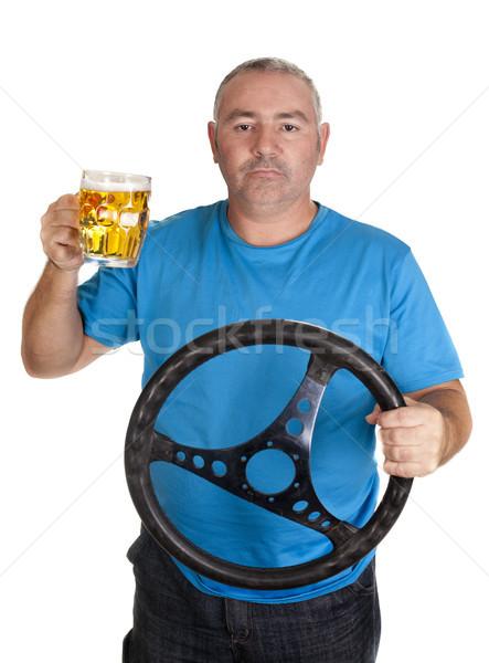 Stock photo: jar driver