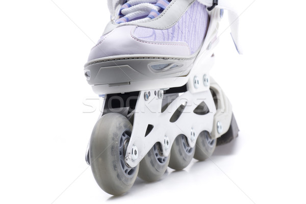 Spor tekerlekler stüdyo oyun bot pateni Stok fotoğraf © jarp17