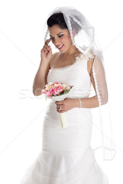 bride call phone Stock photo © jarp17