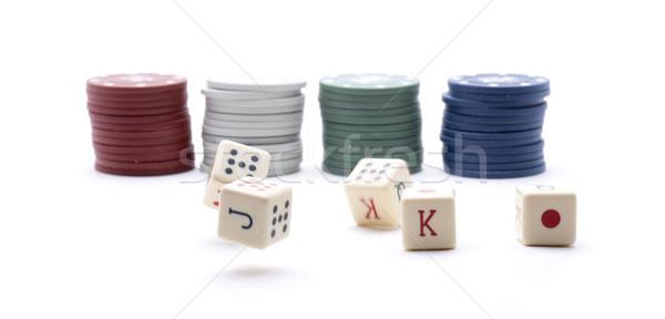 poker tokens Stock photo © jarp17
