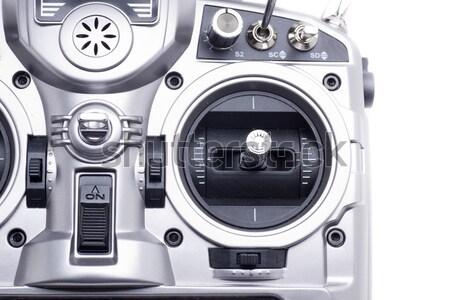 Istasyon radyo kontrol model uçak helikopter Stok fotoğraf © jarp17