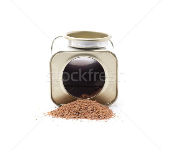 Nootmuskaat ingrediënten specerijen essentieel maaltijden cultuur Stockfoto © jarp17