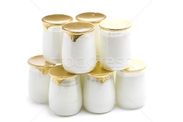 tower yogurt Stock photo © jarp17