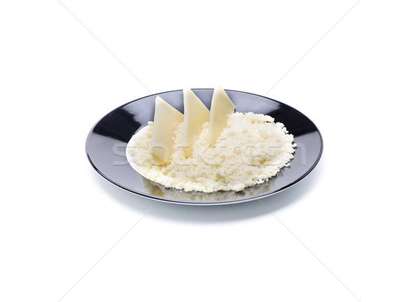 Ingrediente formaggio formaggio grattugiato alimentare Foto d'archivio © jarp17