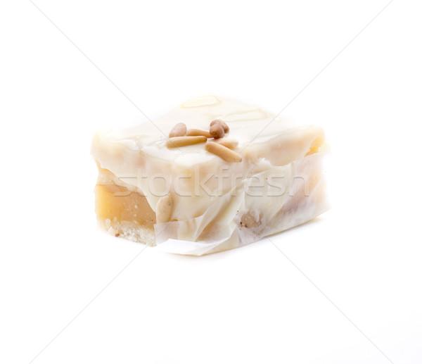 Izolált torta finom házi készítésű út sütemény Stock fotó © jarp17