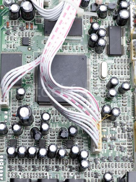Vários elétrico componentes dispositivo construção Foto stock © jarp17