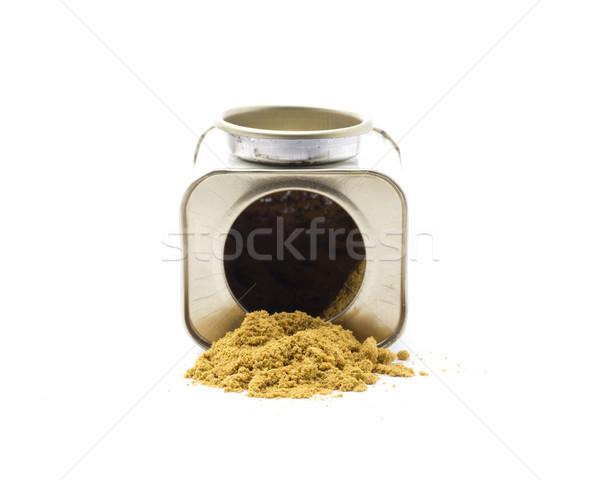 карри ингредиент специи существенный культура Сток-фото © jarp17