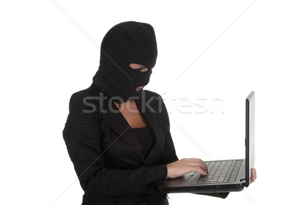 woman hacker Stock photo © jarp17