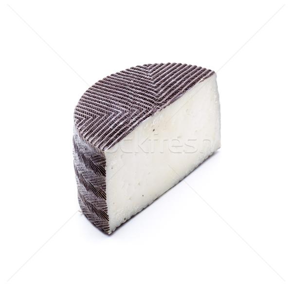 Yalıtılmış peynir parça mandıra gıda taze Stok fotoğraf © jarp17