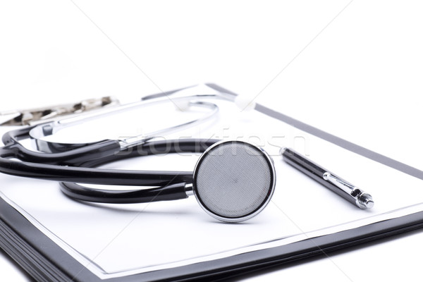 Tanı tıbbi bir stetoskop enstrüman Stok fotoğraf © jarp17