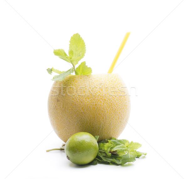 Melão mojito versão um mundo fruto Foto stock © jarp17