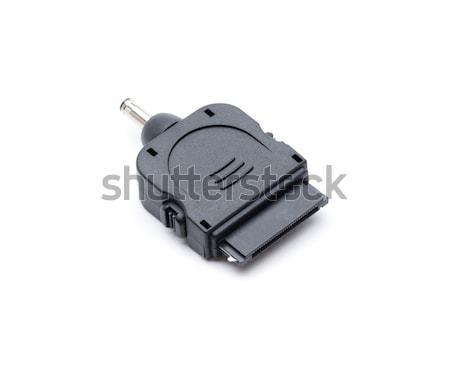 Elma telefon bağlamak usb kablo telefonlar Stok fotoğraf © jarp17