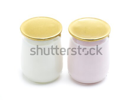 yogurt couple natural Stock photo © jarp17