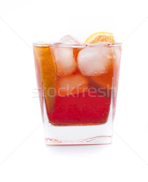 America campari cocktail Stock photo © jarp17
