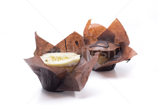два ручной работы шоколадом черный Сток-фото © jarp17
