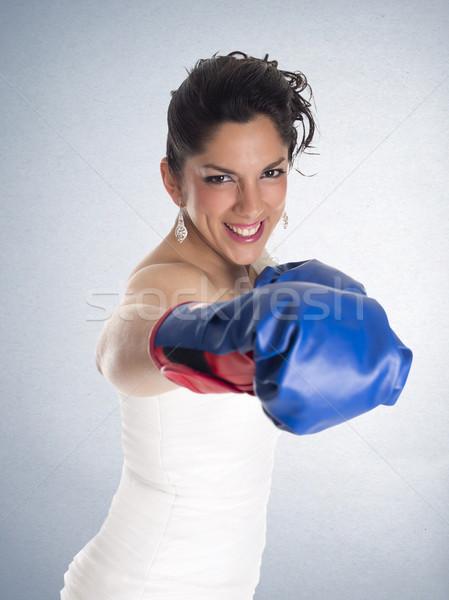 bride gloves hit Stock photo © jarp17