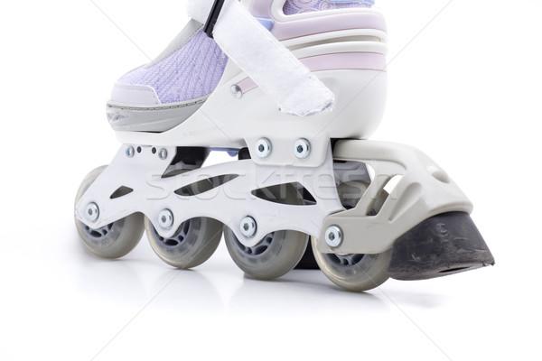 Fék sport kerekek sebesség fehér stúdió Stock fotó © jarp17