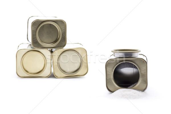 Tempero caixa baunilha temperos essencial Foto stock © jarp17