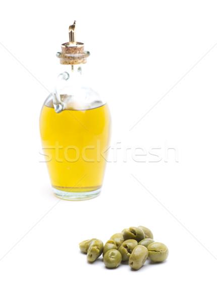 Espanha azeite ingrediente típico cozinha mediterrânea natureza Foto stock © jarp17