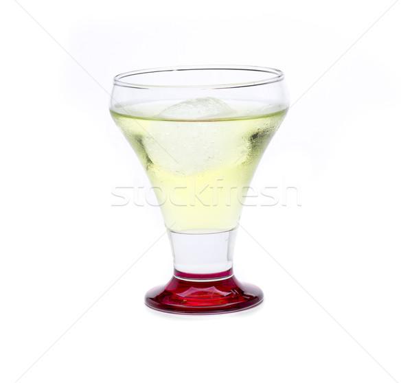 Kavun kokteyl meyve cam gaz alkol Stok fotoğraf © jarp17