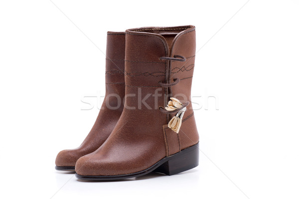 boots traditional andalusian Stock photo © jarp17
