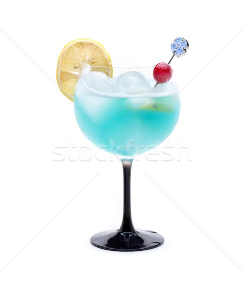 Coco blue cocktail Stock photo © jarp17